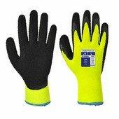 Thermal soft grip kesztyű sárga / fekete