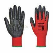 Flexo Grip nitril kesztyű piros / fekete