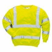 Jól láthatósági pulóver sárga