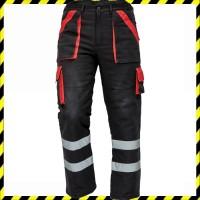 MAX WINTER REFLEX téli nadrág fekete/piros