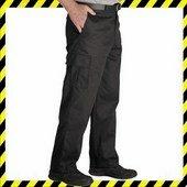 Biztonsági őr nadrág - oldalzsebes nadrág fekete