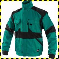 463a8a89e6 EDA zöld/fekete kabát pamut, mellényé alakítható Zöld/Fekete ...
