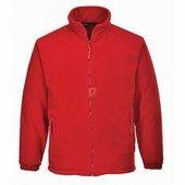 Argyll vastag polár pulóver piros