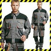 Fridrich munkaruha kabát, sok zsebbel - könyök erősítéssel