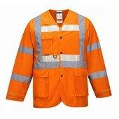 Glowtex vezetői kabát narancs narancs