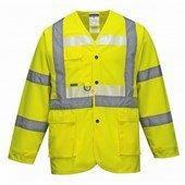 Glowtex vezetői kabát sárga