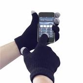 Touchscreen érintőképernyős kesztyű sötétkék