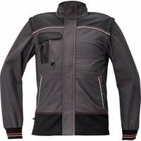 KNOXFIELD kabát antracit/piros