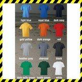 Keya MC-180 színes kereknyakú póló, 100% gyűrűsfonású pamut