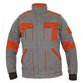 MAX LADY női kabát szürke/narancs