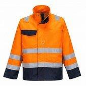 Modaflame RIS narancs/navy kabát narancs / tengerész