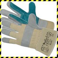 Erősített Bőr Munkavédelmi Rakodókesztyű - RPower ... ac7da363e2