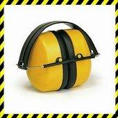 MAX 500 sárga fültok, összecsukható, állítható (SNR 30dB)