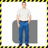 100% pamut munkaruha nadrág kék 300gr