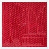 Fényvisszaverő matrica csomag (10 db) piros