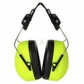 Sisakra szerelhető HV hallásvédő sárga