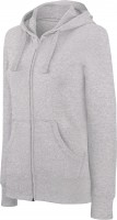 NŐI HOODED FULL ZIP SWEATSHIRT  oxg