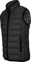 FÉRFI LIGHTWEIGHT SLEEVELESS JACKET bl