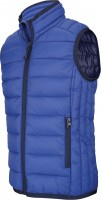 FÉRFI LIGHTWEIGHT SLEEVELESS JACKET  Light Royal Blue
