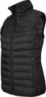NŐI LIGHTWEIGHT SLEEVELESS JACKET / Black