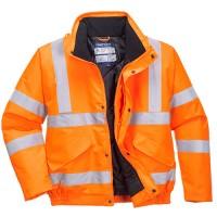 Jól láthatósági dzseki vasúti dolgozók részére Narancs