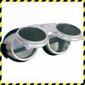 Revalux hegestőszemüveg -alumínium keret védett szellőzőlyukakkal, fel