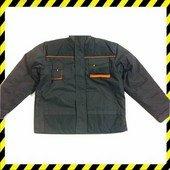 Rewear Szürke-narancs téli bélelt kabát