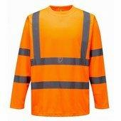 Hi-Vis hosszú ujjú póló narancs