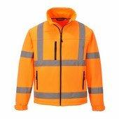 Jól láthatóságioftshell dzseki (3L) narancs