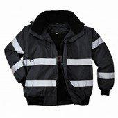 Iona™ 3 az 1-ben bomber kabát fekete