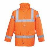 Jól láthatósági kabát narancs