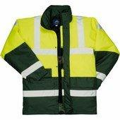 Kontraszt Traffic kabát sárga / zöld