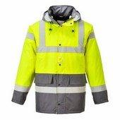 Kontraszt Traffic kabát sárga / szürke