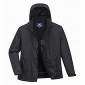 Limax bélelt kabát fekete