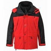 Orkney 3 az 1-ben lélegző kabát piros