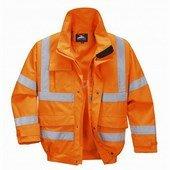 Extreme bomber kabát narancs