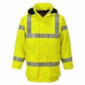 Bizflame Rain Hi-Vis antisztatikus FR esődzseki sárga