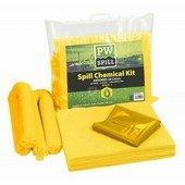 PW Spill (20 liter) vegyi szorbens készlet (6 db) sárga