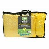 PW Spill (50 liter) vegyi szorbens készlet (3 db) sárga