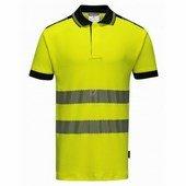 Jól láthatósági Vision pólóing sárga