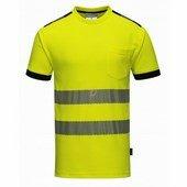 Jól láthatósági Vision póló sárga
