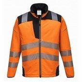 Vision Hi-Vis softshell kabát fekete/Narancs