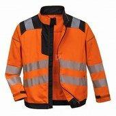 Vision jól láthatósági kabát narancs narancs