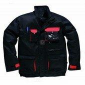 Texo kétszínű kabát fekete / piros
