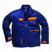 Texo kétszínű kabát tengerészkék/narancs