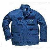 Texo kétszínű kabát royal kék