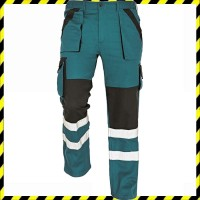 MAX WINTER REFLEX téli - bélelt nadrág zöld/fekete
