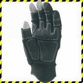 3 ujján ujjvég nélküli sofőrkesztyű, szintetikus bőr (PA/PU)