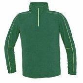 WELBURN férfi polár pulóver zöld