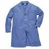 Antisztatikus ESD köpeny kék